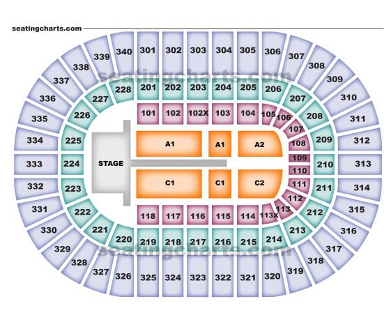 Nassau Coliseum concert seating
