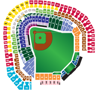 Rangers Ballpark seating chart