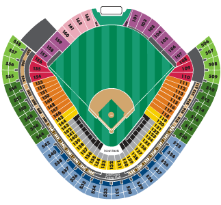 That Other Ballpark In Chicago US Cellular Field TBA - Us cellular field seating map