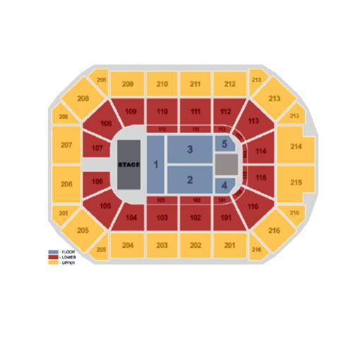 Allstate Arena concert seating