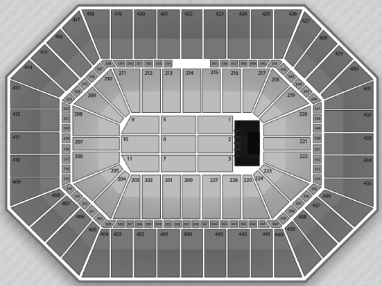 BMO Harris Bradley Center concert seating