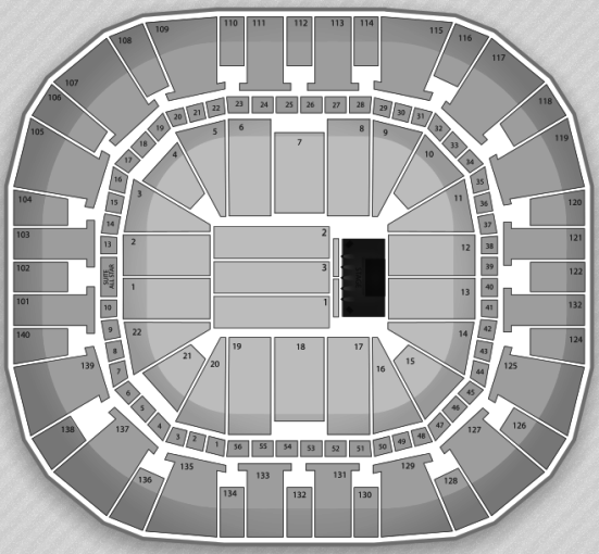 EnergySolutions Arena concert seating