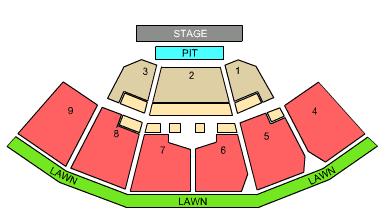 First Niagara Pavilion concert seating