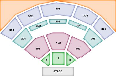 Jiffy Lube Live concert seating