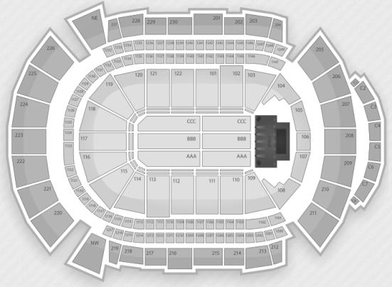 Jobing.com Arena concert seating