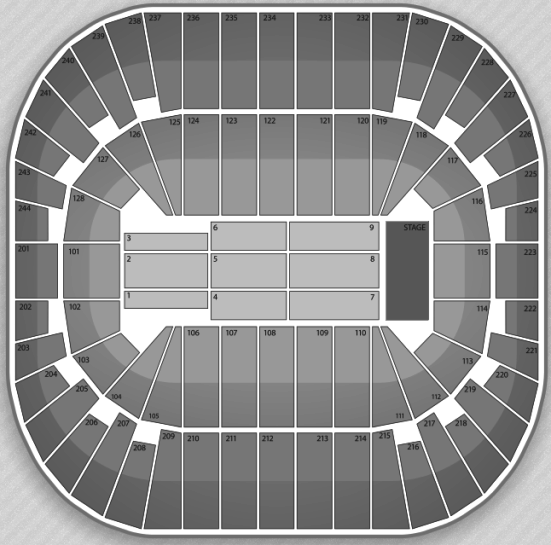 Rexall Place concert seating