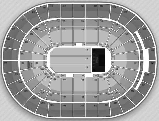 Scottrade Center concert seating