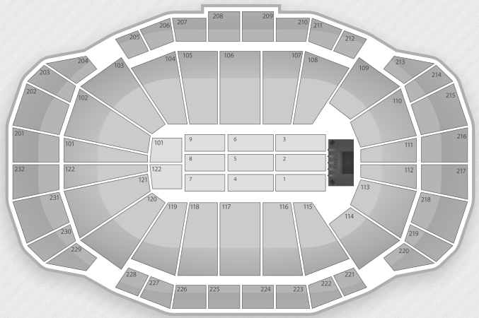 Sprint Center Concert Seating
