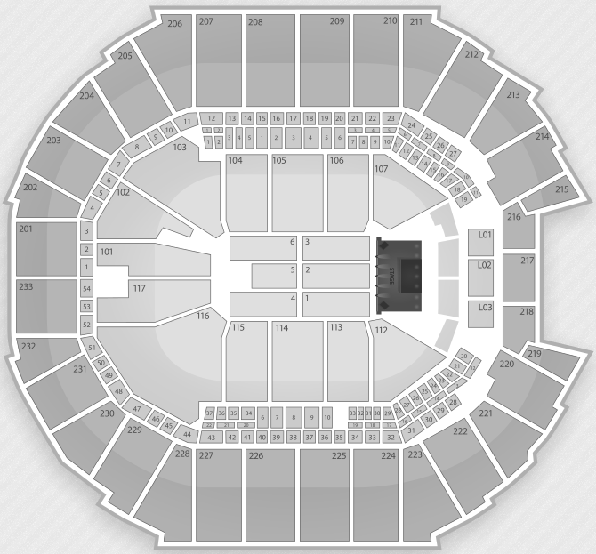 Time Warner Cable Arena Seating Chart With Rows Charlotte