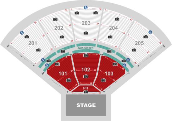 Tuscaloosa Amphitheater concert seating