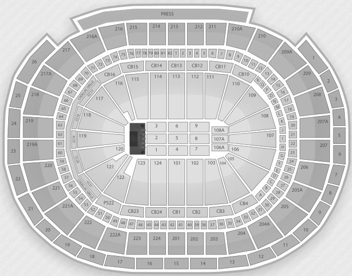 Wells Fargo Philadelphia Concert Seating Chart Best Picture Of
