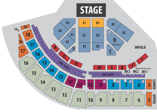 Puyallup Fairgrounds concert seating