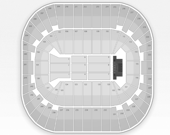 Izod Center Seating Chart