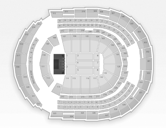 Bridgestone Arena Seating Chart