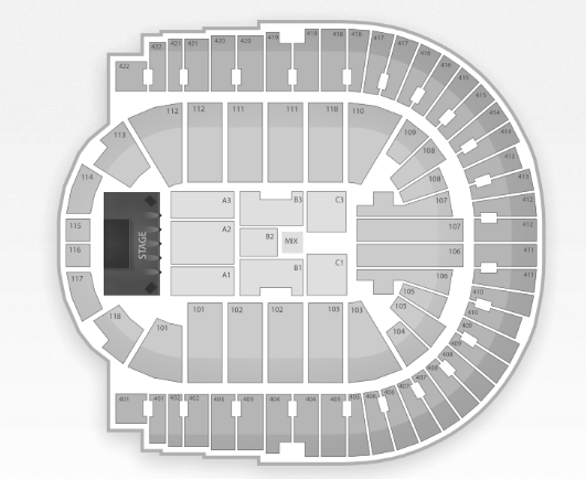 The O2 Seating Chart