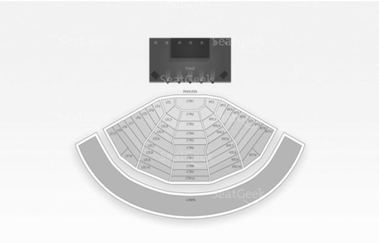 Clarkston DTE Energy Music Theatre Seating Chart