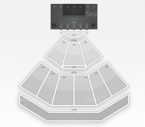 Gexa Energy Pavilion Seating Chart