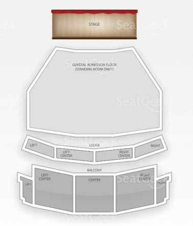 The Capitol Theatre Seating Cha