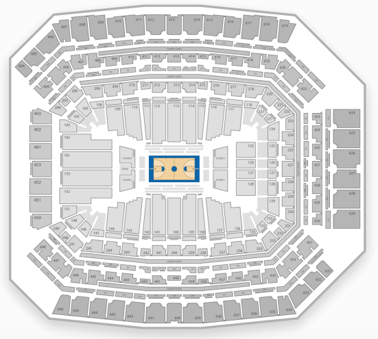 2015 final four seating chart
