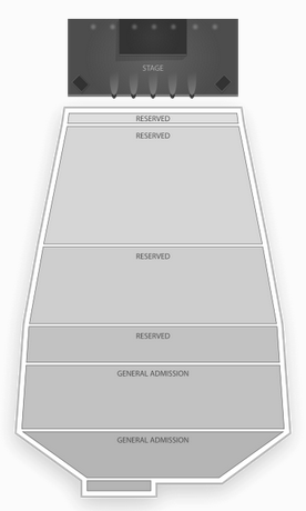 red rocks seating chart