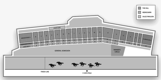 Keeneland_Seating_Chart_Horse_Racing___Interactive_Map___SeatGeek