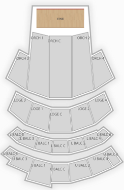 Beacon Theatre Comedy Seating Chart