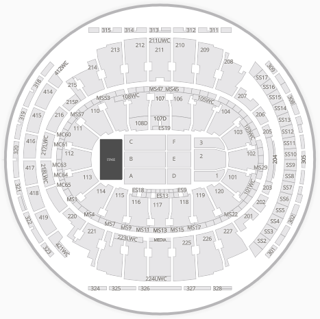 madison square garden_seating chart