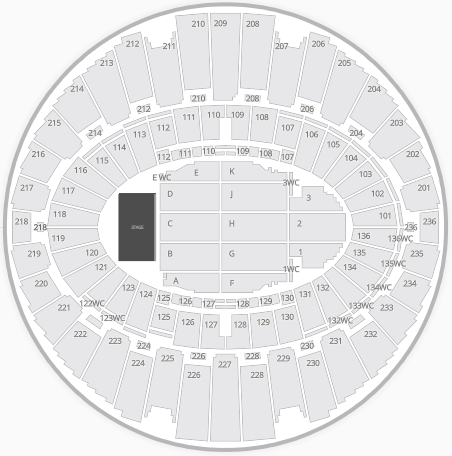 the forum_seating chart