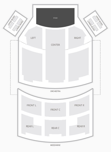 Below You Ll Find The Rodgers Seating Chart Capacity Is 1 380 Seats