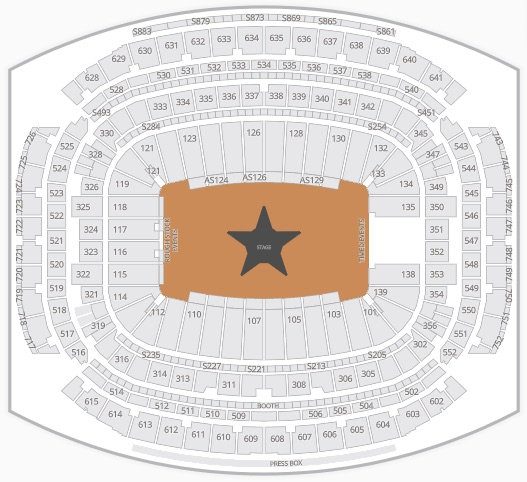 Houston Rodeo Seating Chart