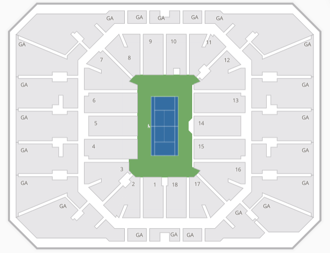 Us Open Tennis Seating Chart Tickets Predictions